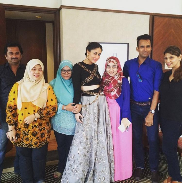 Kareena Kapoor in Malaysia