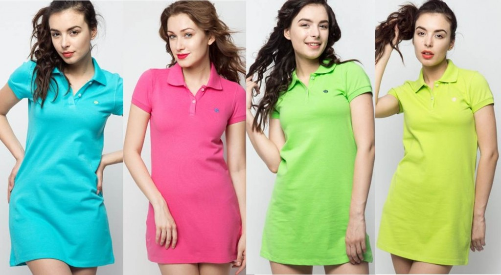 pastel shades tshirt tunic for summer 2015