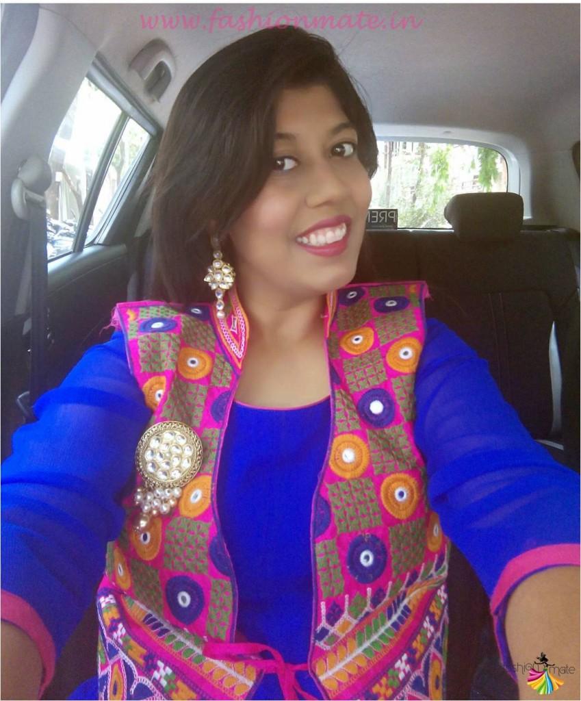 Bandhani kutchi print ethnic jacket indian handicrafts fashion