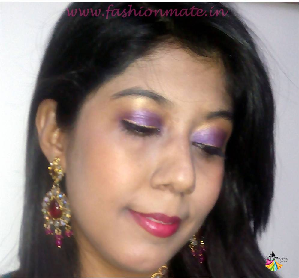 Bridal eye makeup for Indian wedding tutorial