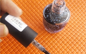 Colorbar's new Black Fiesta Nail lacquer for Confetti Nail art lovers!