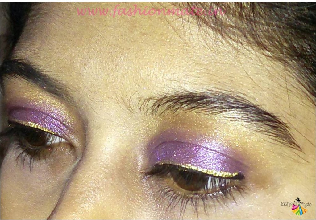 Festive season glamourous eye makeup Indian beauty blogger