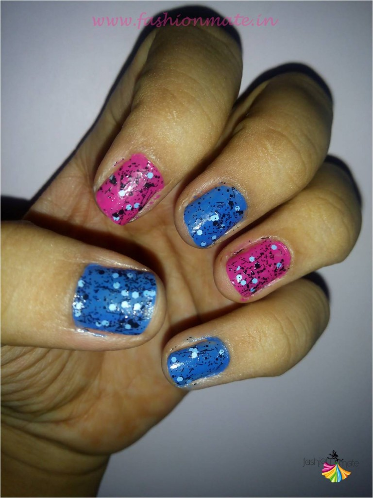Funky nail art for begginers beauty blog tips