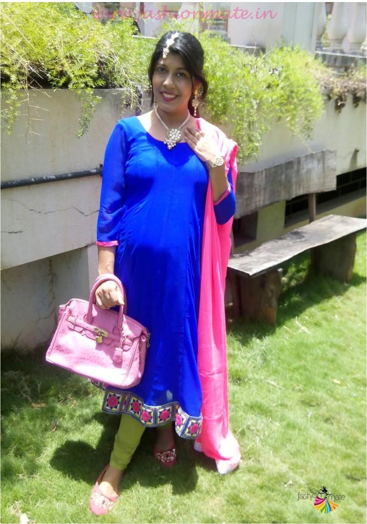 Indian anarkali kurti -Comfortable maternity outfits