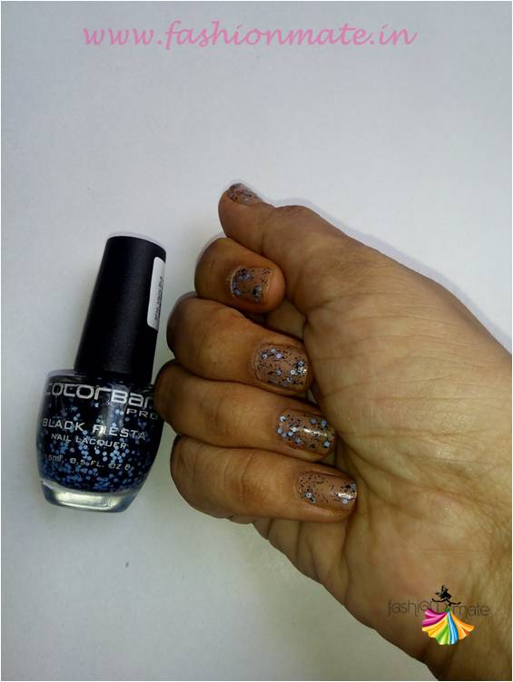 Indian beauty blog reviews - confetti nail art fashion