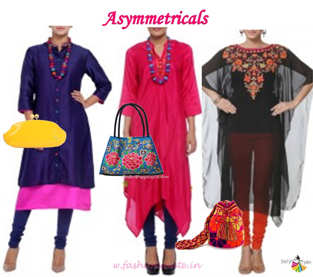 Indian ethnic fashion trends- Summer Asymmetrical outfits