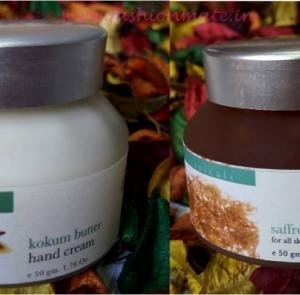 Iraya Saffron Elixir and Kokum Butter hand cream Review & Swatches