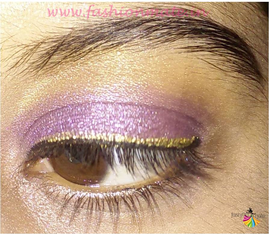 Lakme tanjore rush eye shadow make up tips