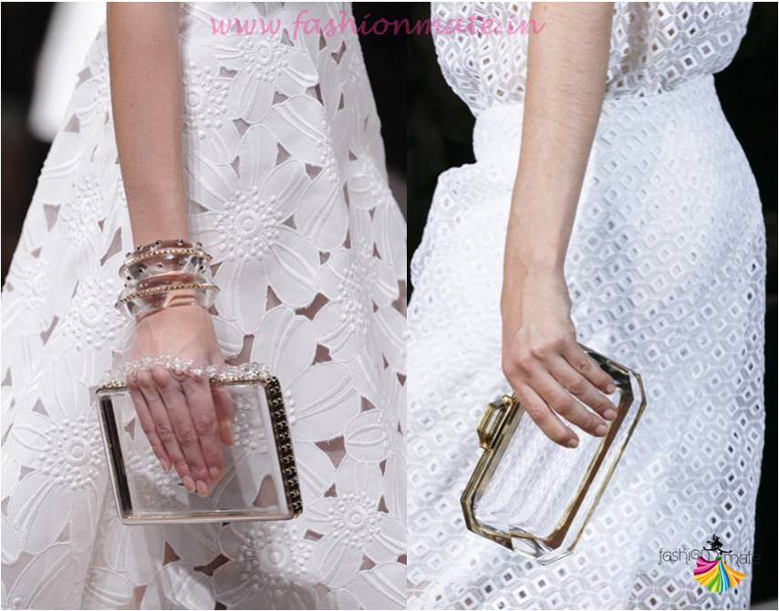 see through stella mccarty plastic clutch fashion trends 2015