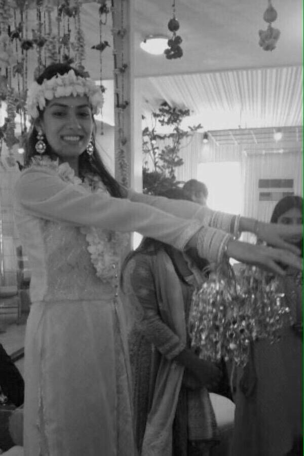 Mira Rajput Shahid Kapoor Wedding Designer Outfit