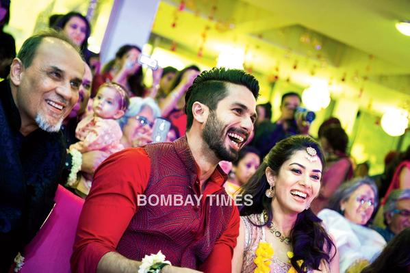 Shahid Kapoor Mira Rajput Wedding Outfit Designers