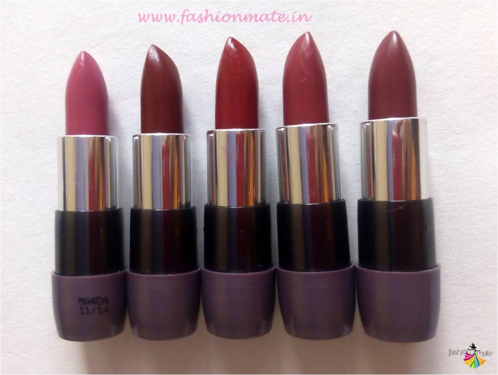 Oriflame the one matte lipstick review & swatches