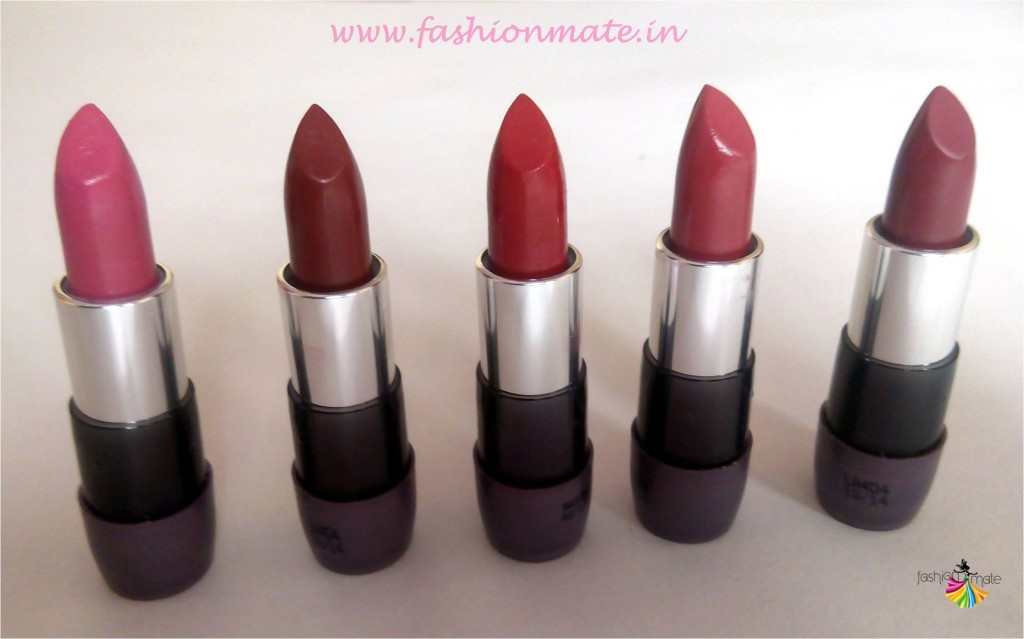 Oriflame the one matte lipstick shades and review