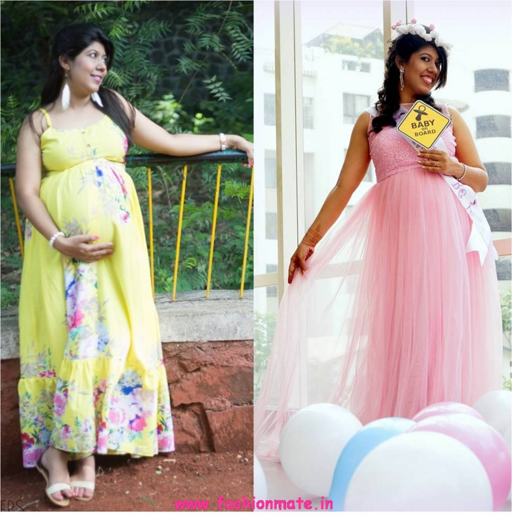 latest maternity fashion outfit essentials - maxi dress gowns