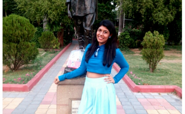 Battling the new mommy blues in Culottes & Crop Top