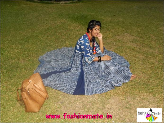 House of Tuhina - Bagru banjara collection handcrafted designer wear