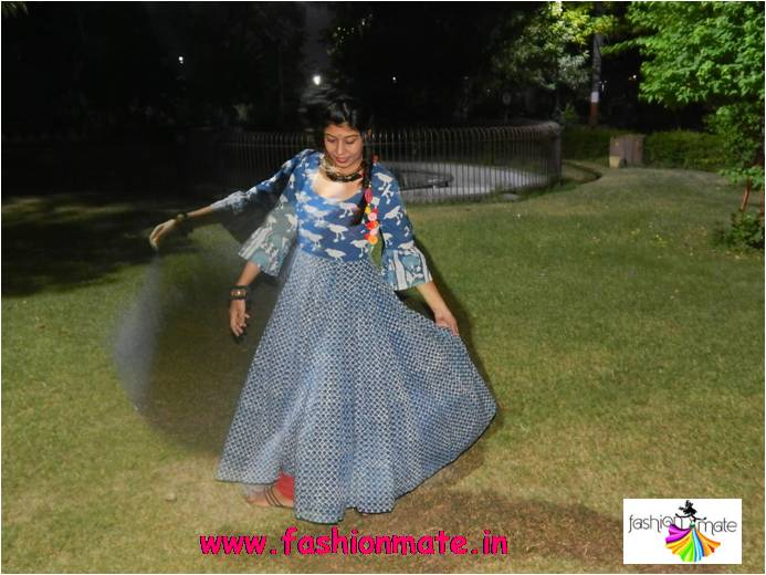 hand block printed traditional wear for Diwali festivals