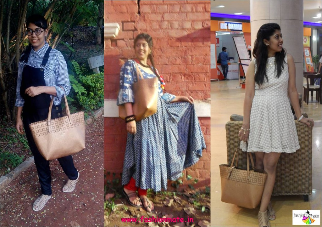 Different ways to style one bag - Ethnic, Casual & Party outfit