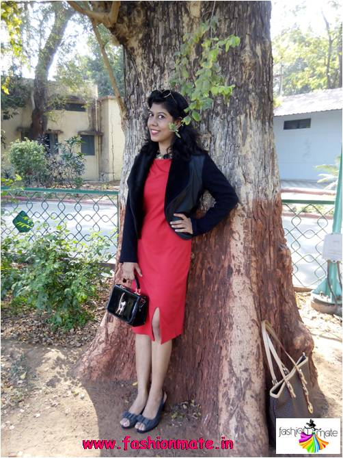Red & Black Dress for Valentine Date Night