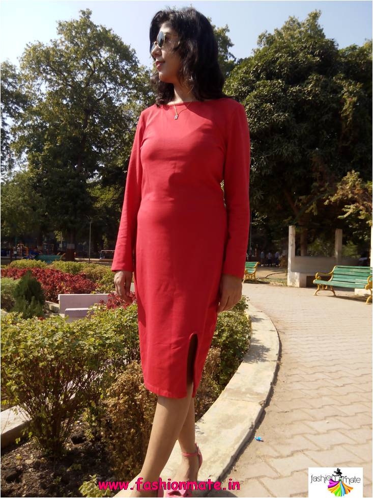 Red Dress for Valentine's Date Day and Night wear