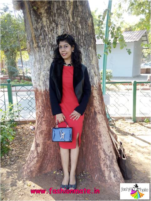 Valentine Day outfit ideas - Vintage Red Dress
