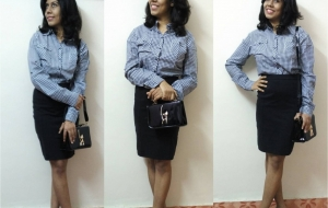 A Pencil Skirt – Your best Day to night outfit