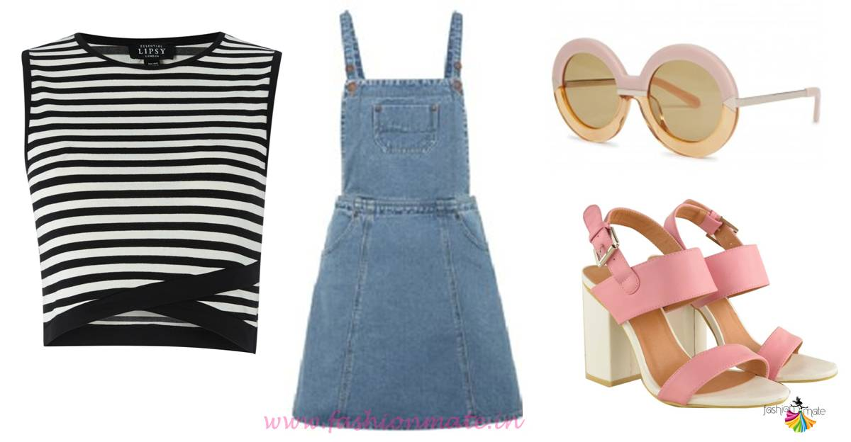 How to style a dungaree dress for summers