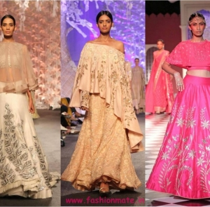 8 Hottest Lehenga Trends from India Bridal Couture Week 2016