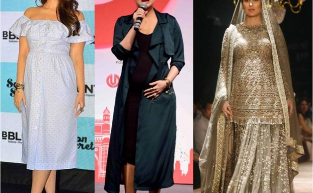 12 most gorgeous looks from Kareena Kapoor Khan's Maternity Style!