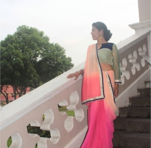Diwali Festival Must Have – A beautiful light-weight Saree!