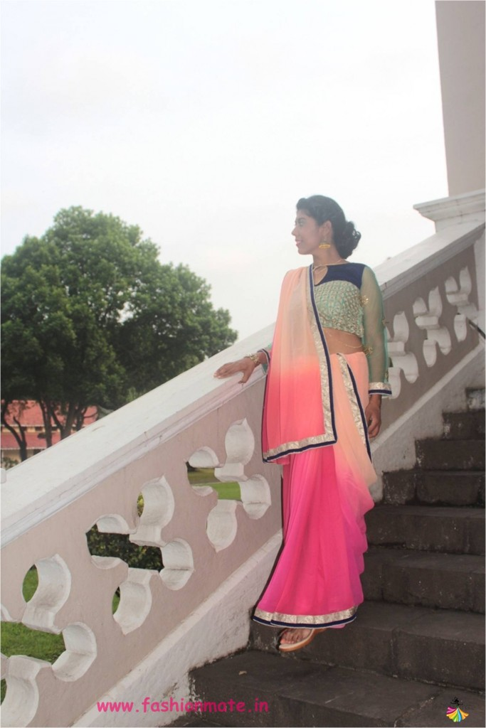 accessorize-your-plain-saree-for-the-diwali-festival-look