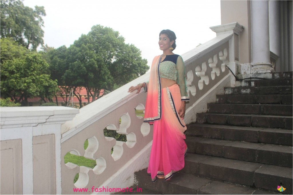 how-to-accessorise-plain-saree-for-stylish-bridal-look