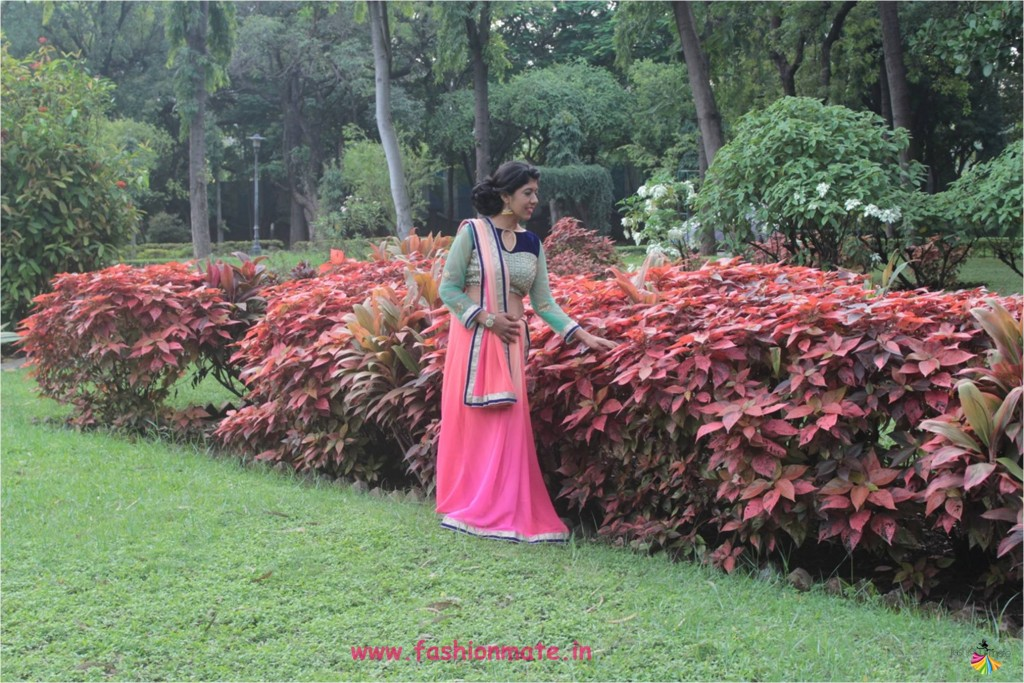tips-to-style-your-simple-saree-for-a-bridal-look-ootd-indian-fashion-blogger