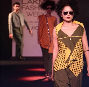Designer Fahd Khatri at Lakme Fashion Week 2017 – Tim Bak Too Collection!