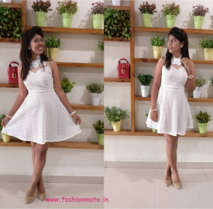 Summer Look – White Lace Dress!