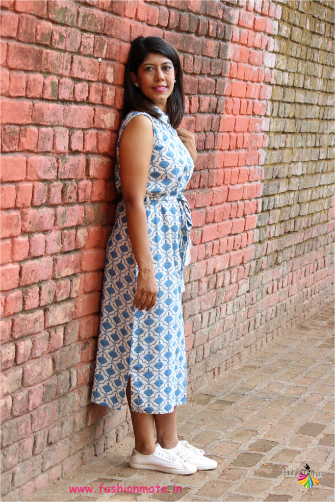 No stitch frock from old kurta - Reuse clothes