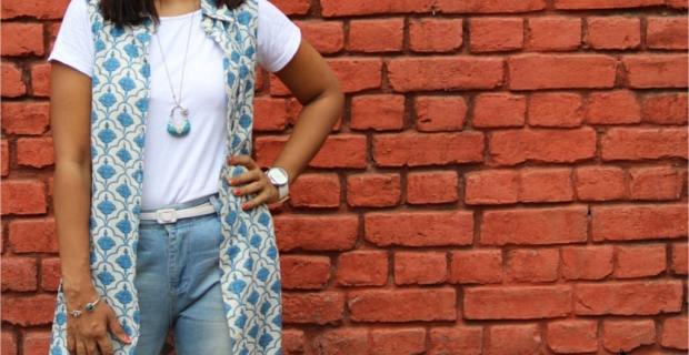 Summer Fashion Restyle – 4 ways to wear a Button down Kurta!