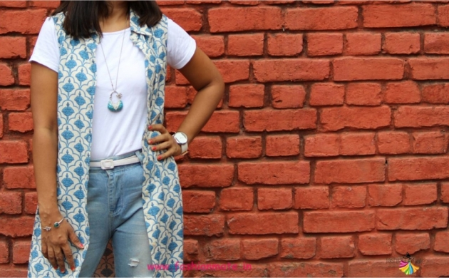 Summer Fashion Restyle – 4 ways to wear a Button down Kurta!