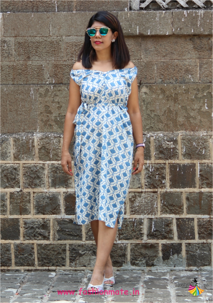 Traditional Kurta styled into Western Dress - Fashion Blogger