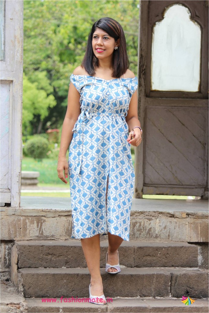 fashion restyle - make a shift dress from old kurta without stitching