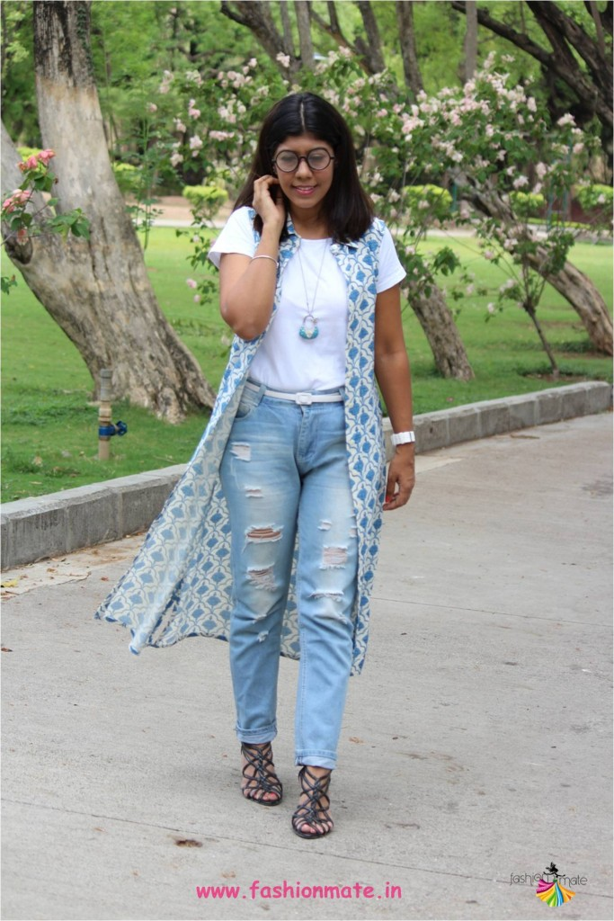 four ways to style your shirt dress - western ethnics