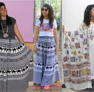 Outfit Restyle – 3 ways to wear an ethnic outfit!