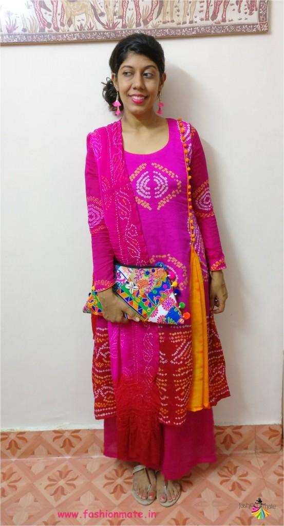 bandhani dress fashion trends - Indian fashion 2017