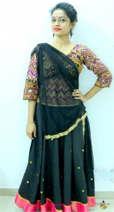 Navratri traditional minimalist style outfit - indian fashion blog