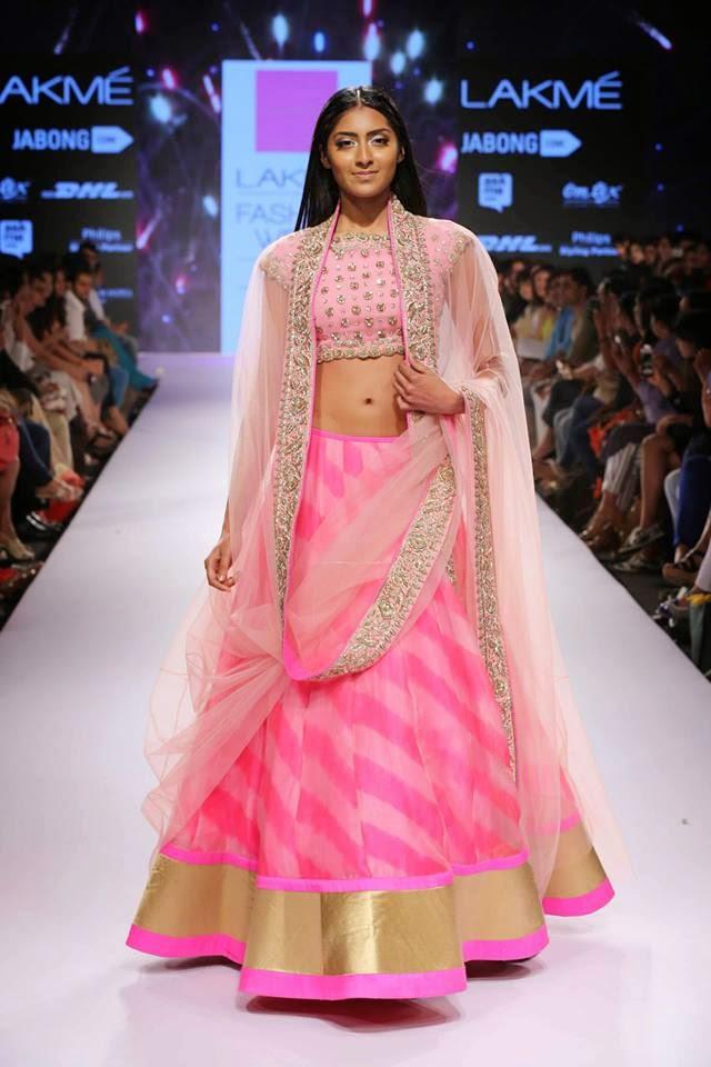 leheriya ghagra latest chaniya choli fashion trend 2017