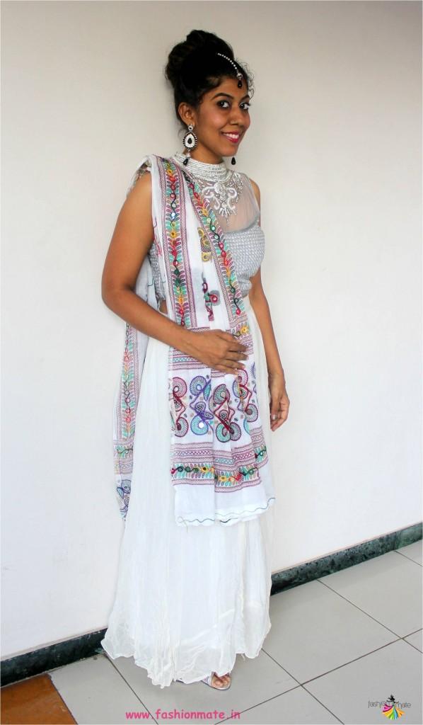 navratri 2017 white outfit - lehenga fashion trends