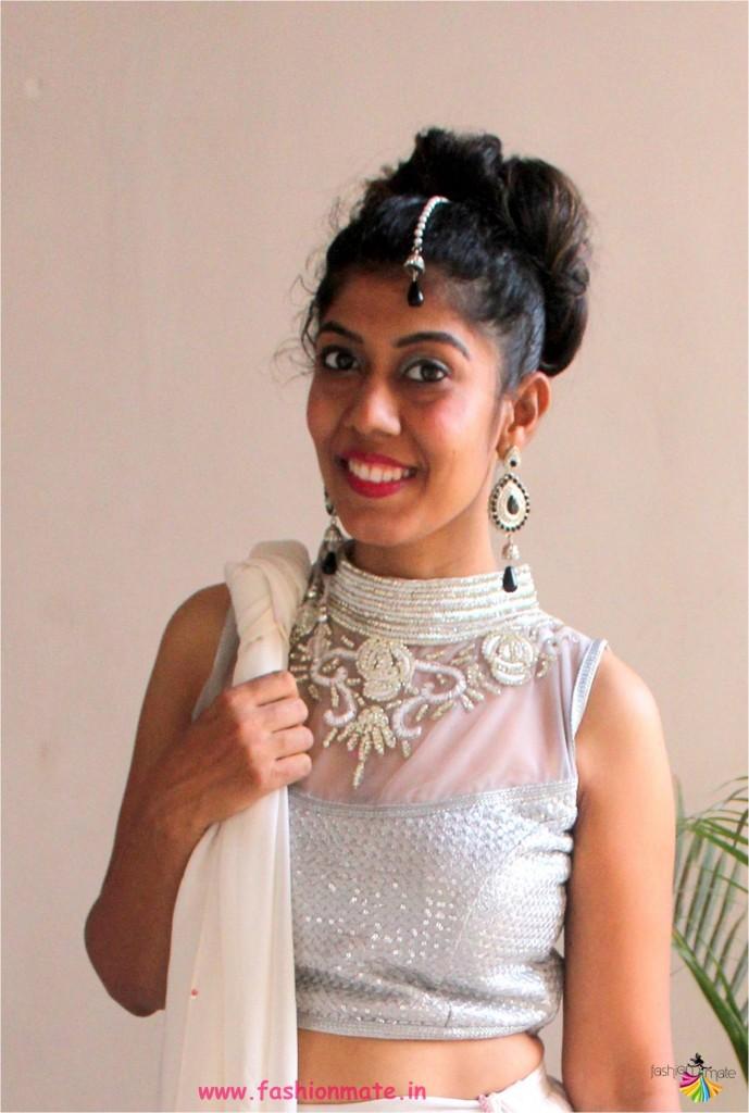 navratri fashion guide - two ways to style your lehenga choli