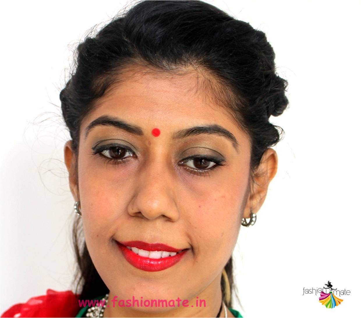 smokey eyes makeup for navratri - Indian beauty blogger