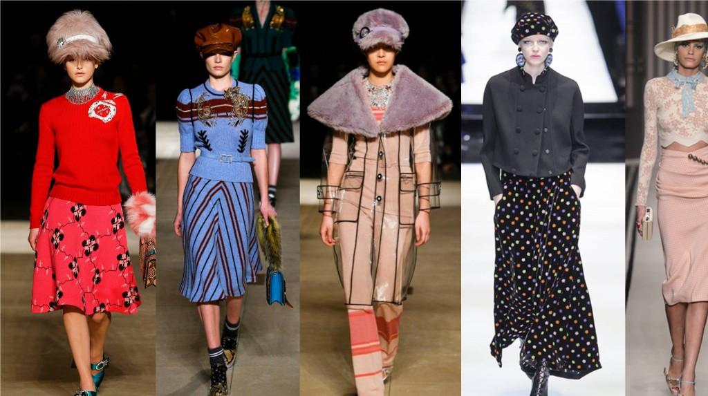 70's headgear newspaper boy caps - latest fall fashion trend 2017