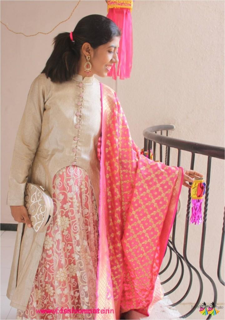 DIY festive jacket lehenga - Bridal lehenga for 2017 wedding